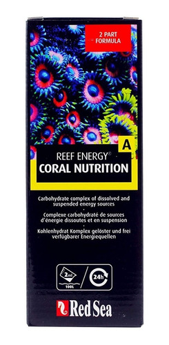 suplemento reef energy a red sea carbs nutrition 500ml