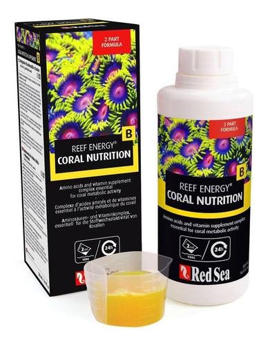 suplemento reef energy b 1l red sea aminoácido nutri corais
