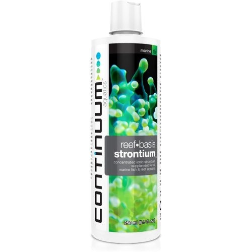 suplemento strontium liquid 250ml continuum crescer coralite