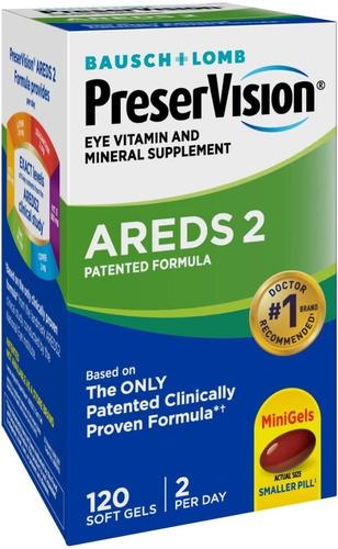 suplemento vitamínico y mineral preservision areds 2