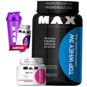 0645016d0 Shark Prof Vitaminas Colageno - Whey Protein para Massa Muscular no Mercado  Livre Brasil