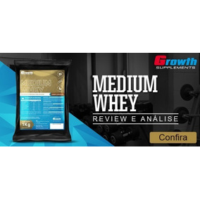 b7d8936dc Medium Whey - Whey Protein para Massa Muscular no Mercado Livre Brasil