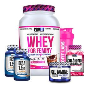 bffa108f2 Whey Feminino Massa Muscular Protein - Suplementos no Mercado Livre Brasil