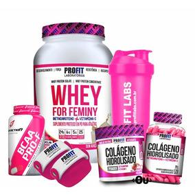 3885f58ba Suplementos Whey Feminino - Whey Protein para Massa Muscular no Mercado  Livre Brasil