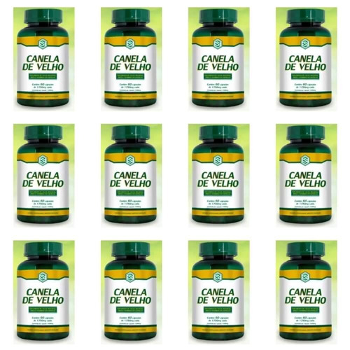 suport canela de velho 1750mg c/60 (kit c/12)