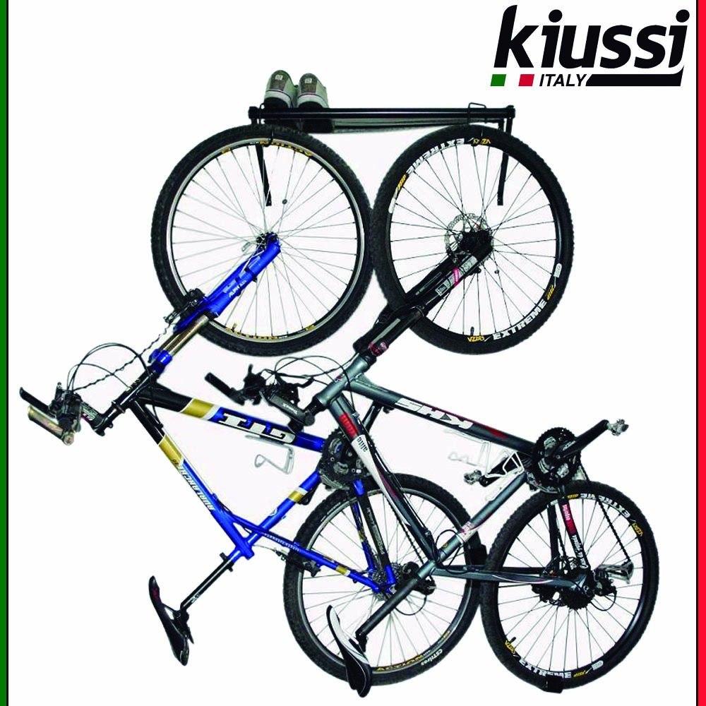 3d1e63309 suporte 2 bicicletas pendurar parede preto wall rack. Carregando zoom.