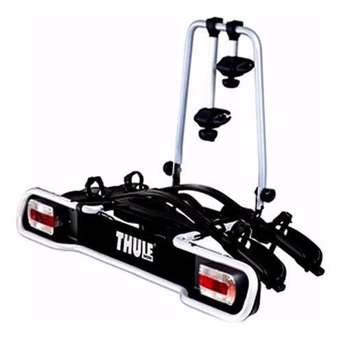 suporte 2 bike no engate thule 941 + 527  (5 fechos) + placa