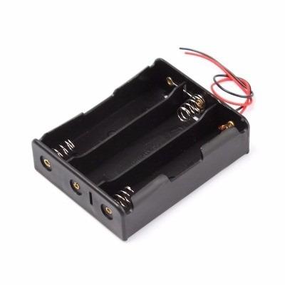 suporte 3 bateria 18650 -  ligacao serie