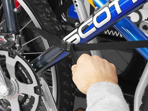 suporte 3 bicicleta no engate thule 972 hangon transbike