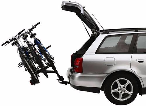 suporte 3 bicicletas thule rideon 9503 + brinde placa nº car