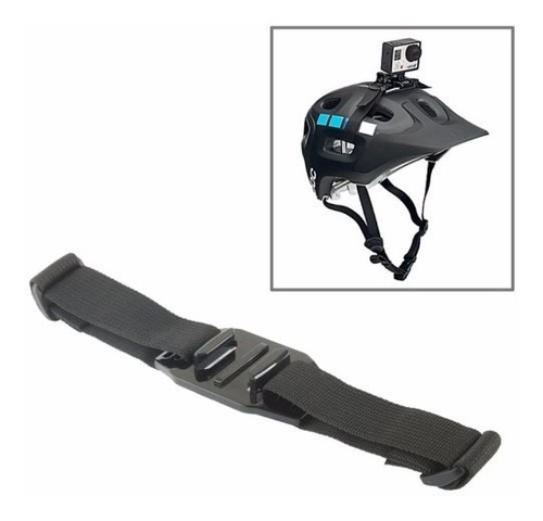 suporte adaptador go pro faixa capacete helmet ventilado