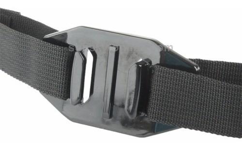 suporte adaptador gopro hero faixa capacete helmet ventilado