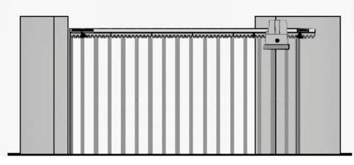 suporte aéreo p/ motor portão eletrônico universal desconto