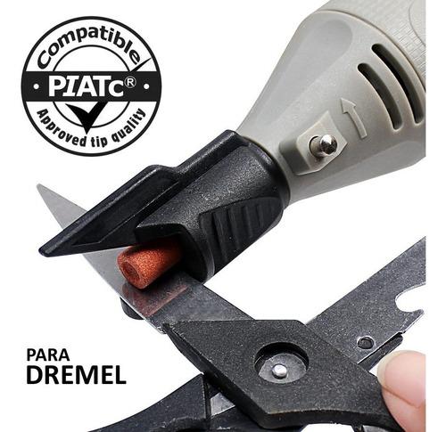suporte afiador tesoura faca para micro retifica tipo dremel