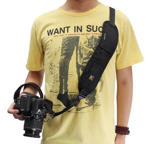 suporte alça de ombro para câmeras dslr canon nikon sony