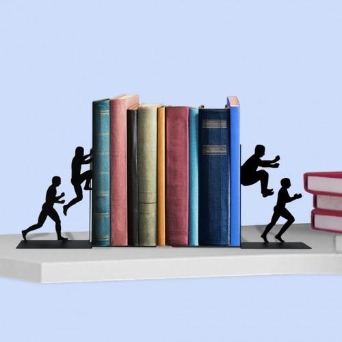 suporte aparador porta livros cds dvds bibliocanto parkour
