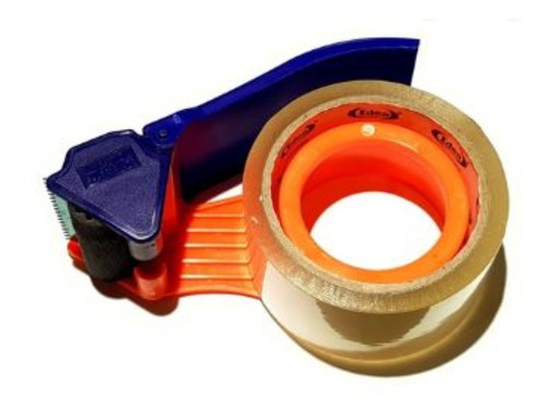 suporte aplicador com fita adesiva embalagens 48mm x 50m .