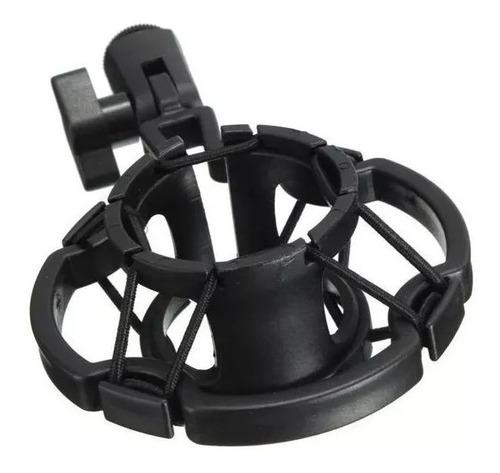suporte aranha shock mount p/ microfone condensador bm800