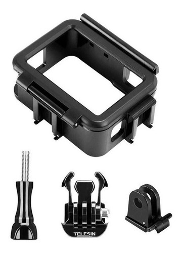 suporte armaçao frame vertical gopro hero7 hero6 hero5 black