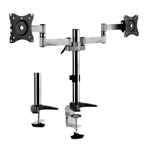 suporte articulado para 2 monitores led e lcd de 13 a 27