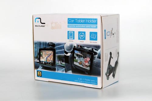 suporte automotivo para tablet/gps ac181 multilaser