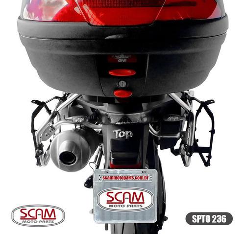 suporte baú lateral bmw f800gs adventure 2014+ scam spto236
