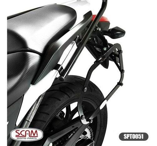 suporte baú lateral nc700x nc750x 2013-2015 scam spto051