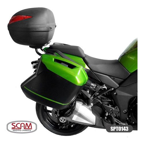 suporte baú superior ninja1000 tourer 2014+ spto143 scam