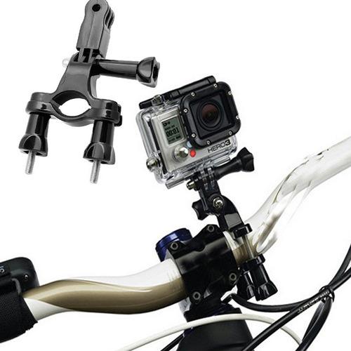 suporte bicicleta go pro handlebar mount bike gopro sjcam