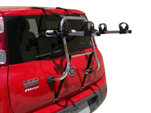 suporte bike para carro transbike carrega 1 ou 2 bicicletas