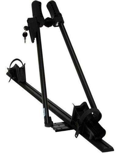 suporte bike teto - calha bike kiussi sanremo 01-102b preto