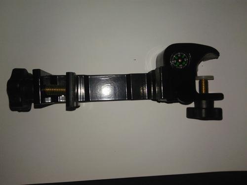 suporte braçadeira coletora gps rtk trimble hiper topcon