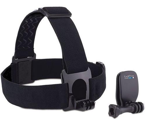 suporte cabeça head strap + quickclip achom-001 para gopro