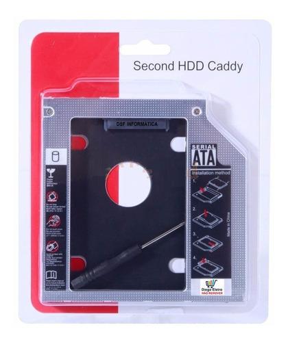 suporte caddy para 2 hd - notebook dell vostro 3550 e 3560