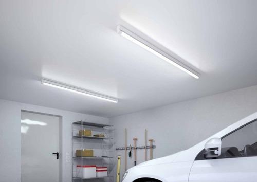 suporte calha suporte para lâmpada led tubular 120cm kit 10