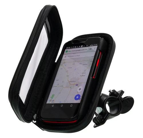 suporte capa celular à prova d'água 4,7'' gps moto bike