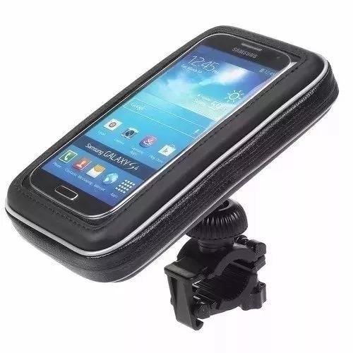 suporte capa celular à prova d'água moto bike bicicleta gps