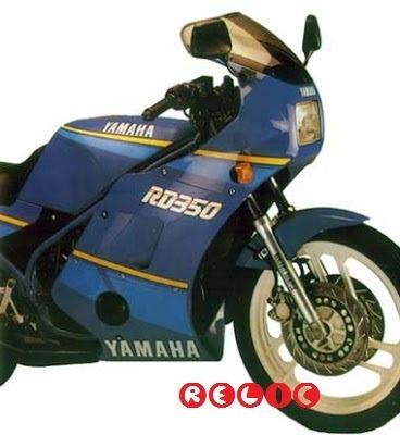 suporte carenagem rd 350 rd350 original yamaha japan raro