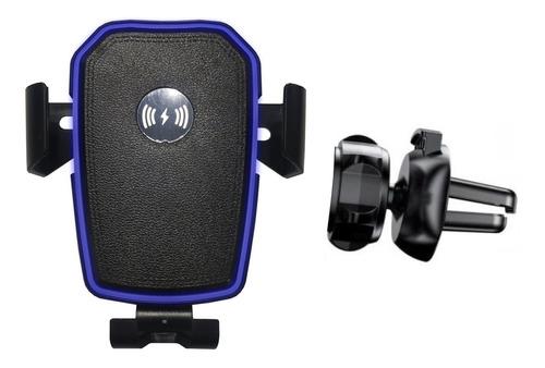 suporte carregador de celular veicular sem fio indução knup