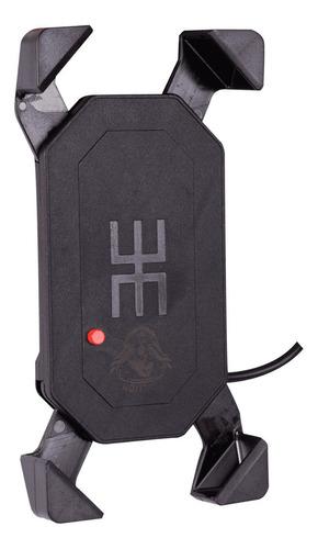 suporte carregador gps celular aranha harley ultra limited