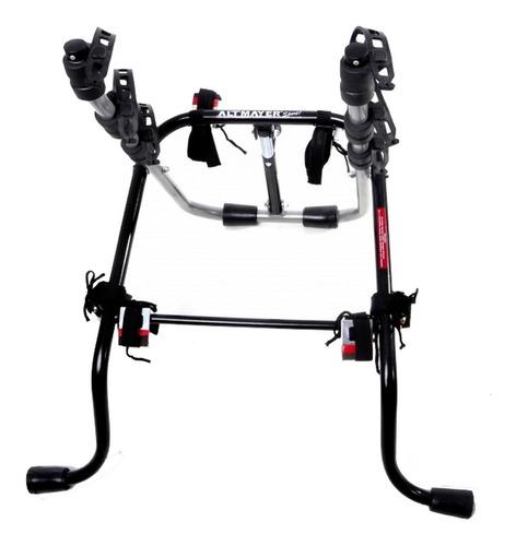 suporte carro altmayer hatch sedan 3 bicicletas transbike