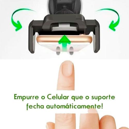 suporte celular articulado automotivo painel universal