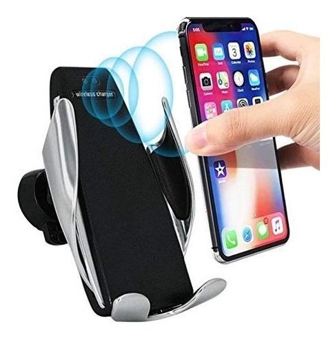 suporte celular carregador inducao iphone sansung automatico