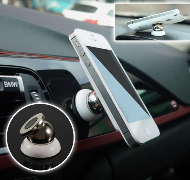 Magnetic cell phone car holder cd slot mount 14
