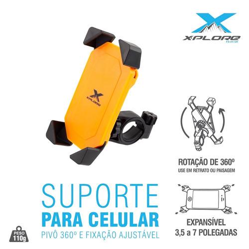 suporte celular gsp universal motos e bicicleta x-plore