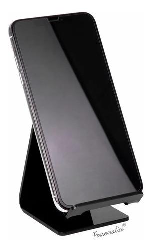 suporte celular mesa smartphone gravado caveira mexicana