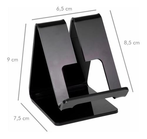 suporte celular mesa smartphone personalizado corinthians