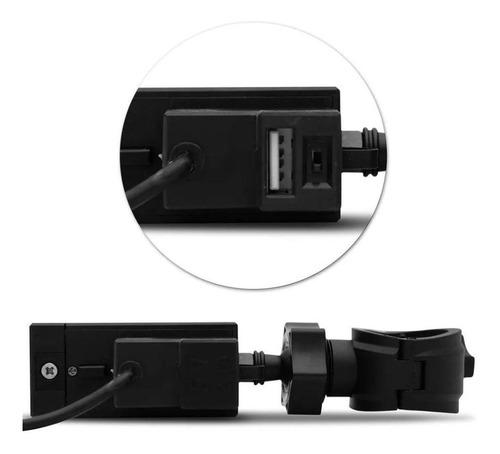 suporte celular moto universal com carregador guidão gps