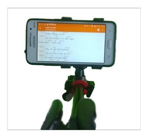 suporte celular smart para pedestal microfone frete gratis