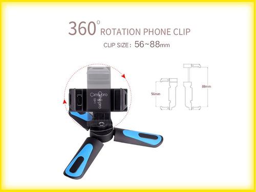 suporte celular smartphone 360g com sapata ( adaptador )
